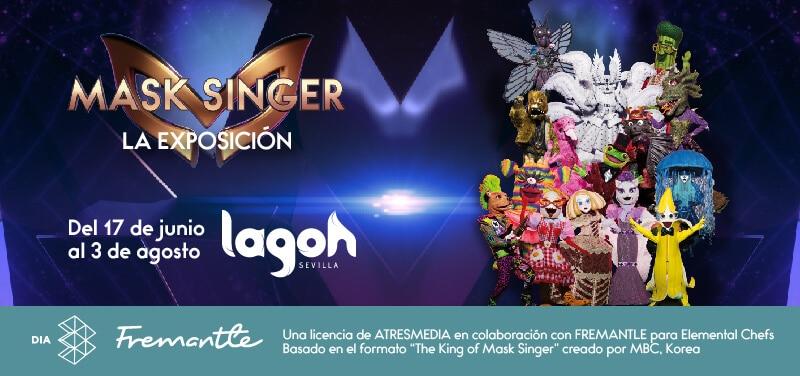 La exposición 'MASK SINGER' adivina quién canta desembarca este verano en Lagoh