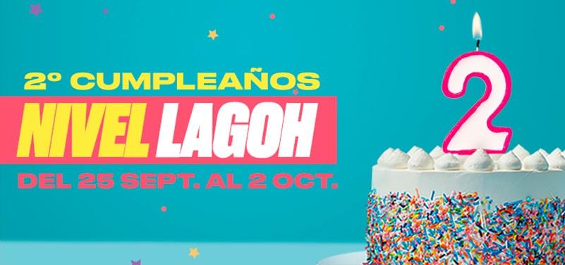 El segundo aniversario de Lagoh va a ser un cumpleaños de mucho Nivel